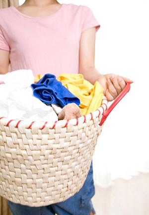 洗濯を干す時に日に当たる程度