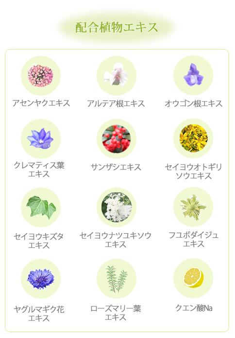 配合植物エキス