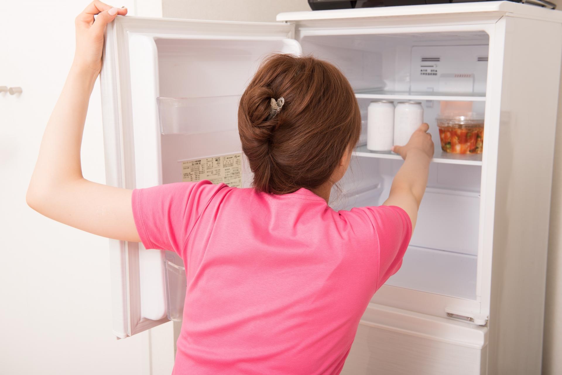 冷蔵庫にローションを入れて冷やす