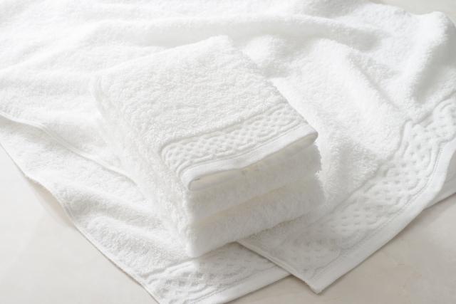 タオルはきれいなものを