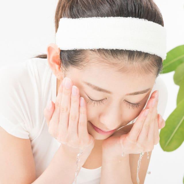 敏感肌の方の洗顔方法
